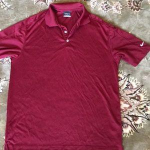 Men's Nike golf shirt size large